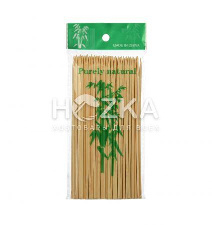 Палочки д/шашлыка 15см 100шт бамбук - 1