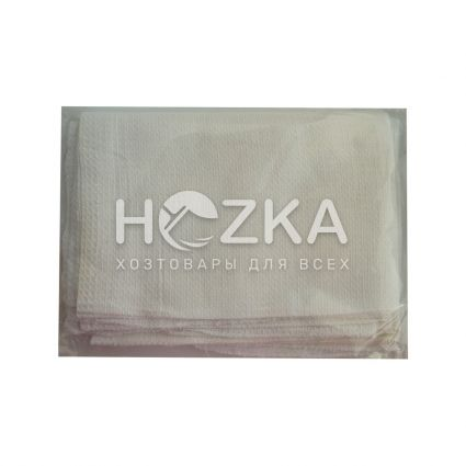 Вафельное полотенце 45*75 см белое 4 шт - 2