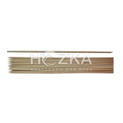 Палочки д/шашлика 40см 200шт бамбук - 2