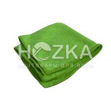 Салфетка микрофибра Сlean Up универс зелёная 30х30 см 1шт