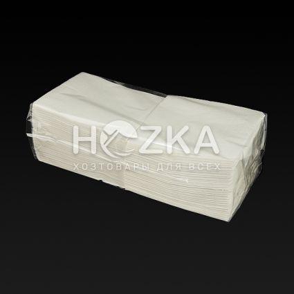Салфетка 33*33 2 слоя белая 200 шт. - 2