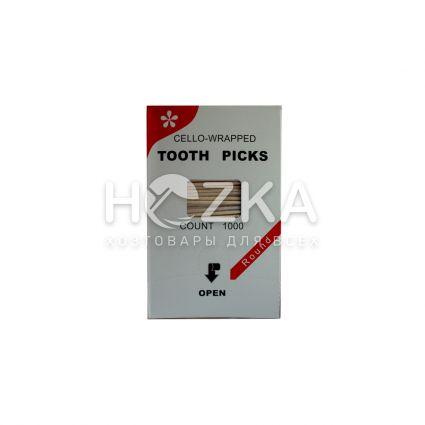 Зубочистки 1000 шт инд.цел.уп. (А) - 2