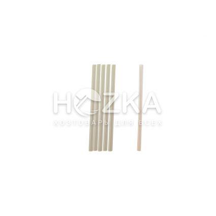 Трубочки прямые прозрачные 12,5 см 200 шт - 1