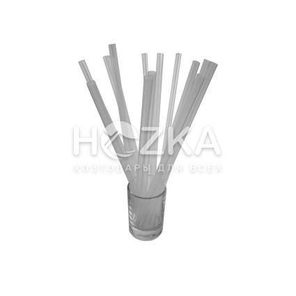 Трубочки Фреш прозрачные прямые d-6,8 21 см 500 шт - 2