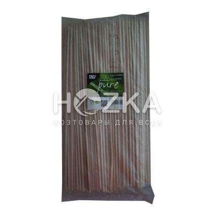 Палочки д/шашлика 40см 200шт бамбук - 1