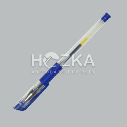 Ручка гелевая синяя - 2