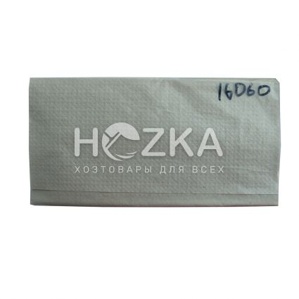 Салфетка-вкладыш ZZ серая 160 л/уп - 2