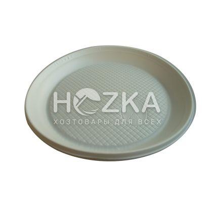 Тарелка 165 мм десертная 100 шт/уп белая - 2