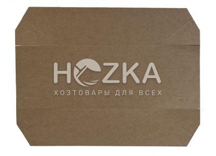 Тарелка Лодочка крафт ЕКО лам 195*135 100шт/уп - 2