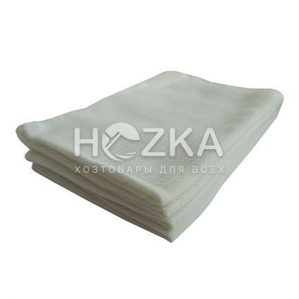 Вафельное полотенце 45*75 см белое 4 шт - 1