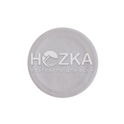 Крышка прозрачная для ёмкости суповой 330-450 мл (50 шт) - 1