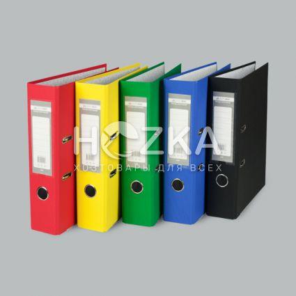 Папка-регистратор А4 красная 70 мм - 4