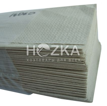 Салфетка-вкладыш ZZ серая 160 л/уп - 1
