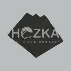 Барные черные салфетки 24*24, 300 шт/пач