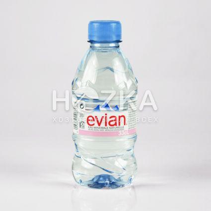 Evian минеральная вода 0,33л - 1