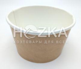 Контейнер суповой бумажный 470 мл крафт 50 шт