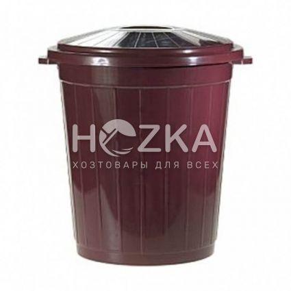 Контейнер для мусора с крышкой 65л (ВП-65) - 1