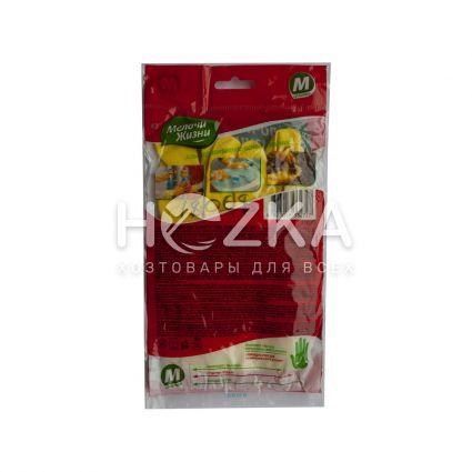 Перчатки резиновые сверхпрочные МЖ ( М) - 4