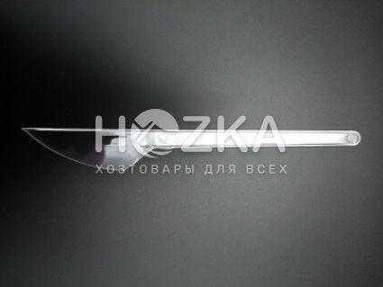 Нож одноразовый прозрачный Н в инд уп., шт - 1