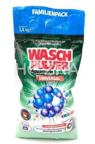"""Порошок стиральный """"WASH"""" Pulwer 3400 гр автомат - 1"""