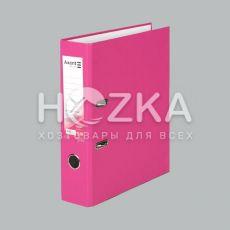 Папка-регистратор А4 розовая 70 мм