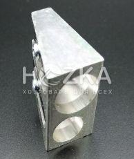 Точилка металлическая 2 отверстия KUM