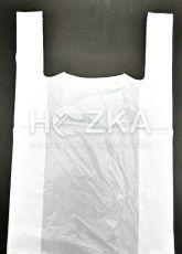 Пакет майка 30*12*50 см белый 100 шт/уп