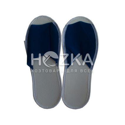 Тапочки гостиничные синие - 2