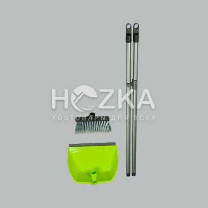 Комплект для уборки совок + щётка - 4