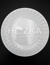 Тарелка 205 мм десертная 10 шт. стеклоподобная белая