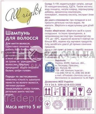 HELPER All right шампунь - 2
