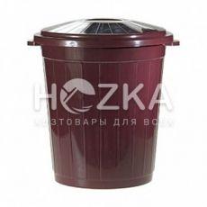 Контейнер для мусора с крышкой 65л (ВП-65)