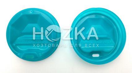 Крышка пластик U д/бум.стакана 69 (50 шт) цветная - 1