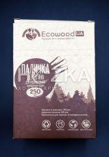 Мешалка д/кофе деревянная в инд. упак. крафт 250 шт в картонной упаковке
