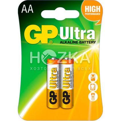 Батарейка GP Ultra LR-06 AA по 2шт на блистере - 1