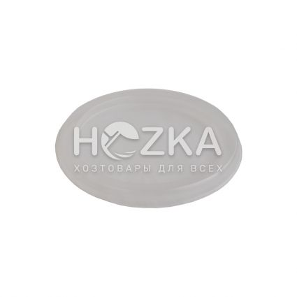 Крышка прозрачная для ёмкости суповой 330-450 мл (50 шт) - 2