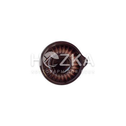 Ёмкость+ крышка (50 мл) коричневая 100 шт/рук - 5