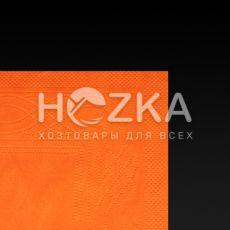 Салфетки 33*33 2 слоя оранжевые 100 шт