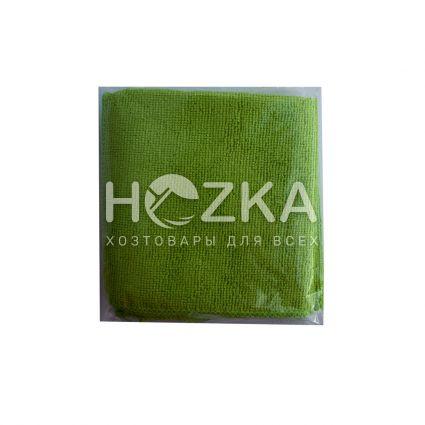 Салфетка микрофибра Сlean Up универс зелёная 30х30 см 5шт - 2