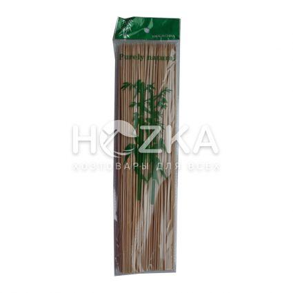 Палочки д/шашлыка 30см 100шт бамбук - 1
