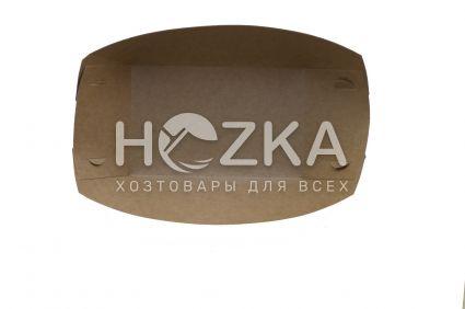 Тарелка Лодочка крафт ЕКО лам 195*135 100шт/уп - 1
