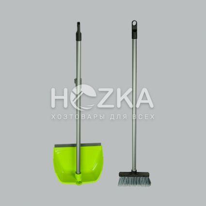 Комплект для уборки совок + щётка - 3