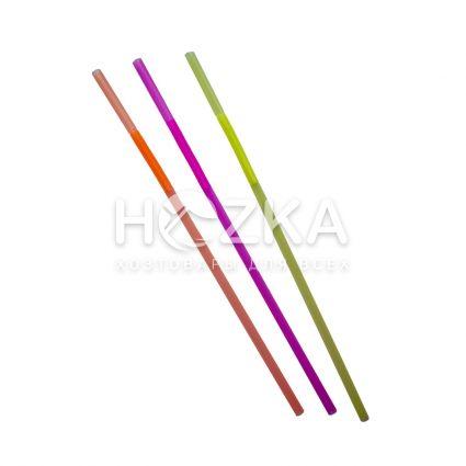 Трубочки с длинным гофром 27 см 100 шт - 1
